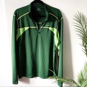 Patagonia   Green 3/4 Zipper Pullover